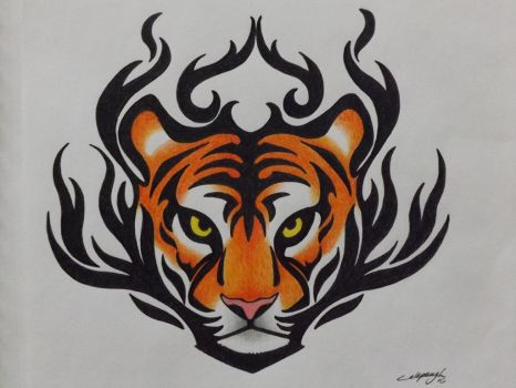Tiger Tattoo by SinisterVibe