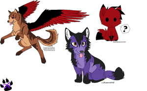 Mascot Contest Entries by DappleFeather