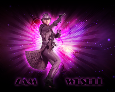 Zam Wesell Wallpaper by LaraStrong