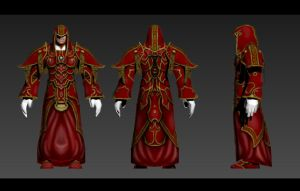 Exaro Archmage armour by AaronQuinn