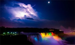 Storm over Niagara Falls by lizzys-photos