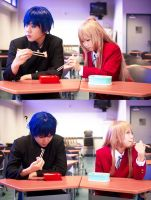 Toradora - Lunch time by Ika-xin