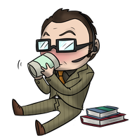 another stupid finch chibi by candlehat