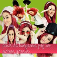 pack png de ariana grande by thecrazypata