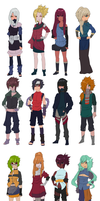 Naruto Adoptables Set #38 by pepper-adopts