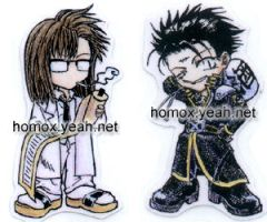 Saiyuki little bookmark by toiji