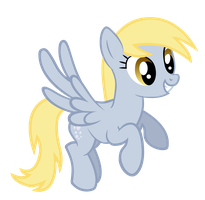 Smiley Derpy Hooves Vector by ikillyou121