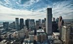 Houston From Above by isaiasvalencia