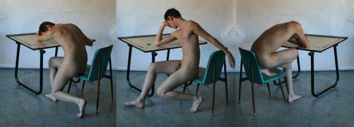 Request - Male Nude Table 3 by TheMaleNudeStock