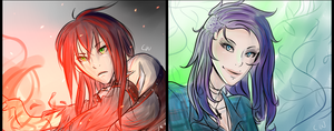 PC: Sketch Commish Batch 3.5 by ChikitaWolf