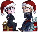 - Chibi YCH - Christmas time [CLOSED/UPDATED] by Hagyr