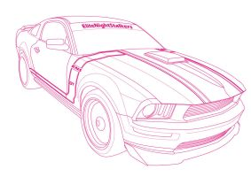 american muscle- Mustang by cryingsoul85