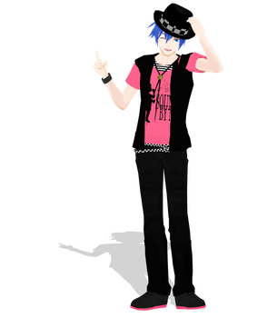 .: DL Series :. Casual YM Kaito by Duekko