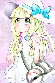 Sun and Moon: Lillie by lilicovian03
