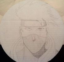Kakashi sketch by Silver-Atlas