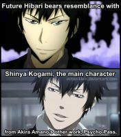 Future Hibari Kyoya and Shinya Kogami by Ethan-Klein