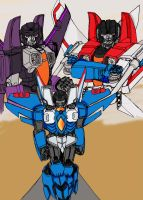 Thundercracker, Seeker No more by ConstantM0tion