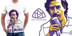 Pablo Escobar t-shirt by Cloxboy