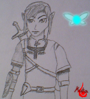 Link Drawing by Kutanra