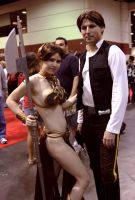 Han and Leia megacon 2012 by JohnnyHavoc