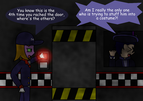 FNAF night 2 by Trifong
