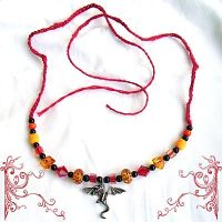 Smaug's Ire Necklace by merigreenleaf