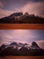 Peaks of Canmore by drewhoshkiw
