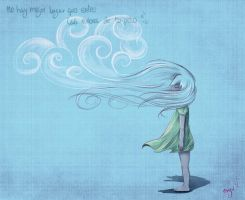 Clouds of your hair by Nyu-Lilu