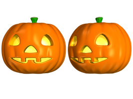 Spooky Halloween Pumpkin 2 Stock by Jumpfer-Stock