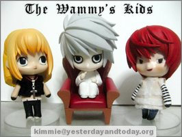DN Nendoroid - The Wammy Kids by llawliet-ryuzaki