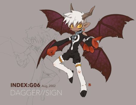 INDEX:G06 -DAGGER//SIGN- by hydrowing