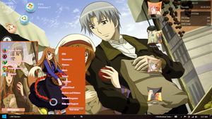 [Theme Win 7] Wolf and Spice by afifslamet