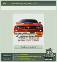 Test Drive Unlimited 2 Icon by CODEONETEAM