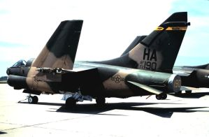 Iowa A-7D in 'Wraparound' by F16CrewChief
