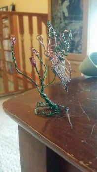 3d wire butterfly  by lolahaley