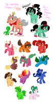 Wreck-it-Ralph MLP Batch 1 by Genolover