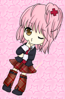 Shugo chara - Amu - Colored by KuroKonekoChan