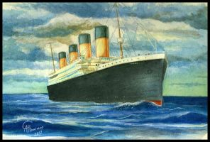Titanic, the ship of the unsinkable memories by CamusAltamirano