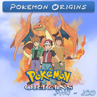 Pokemon Origins ICO & PNG by bryan1213
