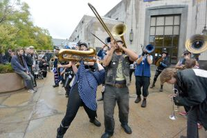 2014 Honk Festival, Chaotic Noise 26 by Miss-Tbones