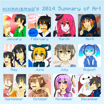 Summary Art 2014 by HikariBayo