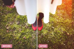 Wedcraft Photoshop Actions Before/After by filtergrade