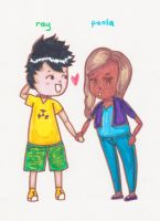 Request-Ray+Paola-For RayO-ElGatubelo by FlourescentRaven
