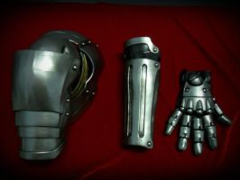 FMA Edward Elric Automail Arm 1 by AsserT-REvenge