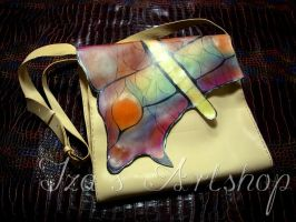 Butterfly Wing Messenger Bag by izasartshop