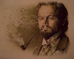 Calvin Candie / Leonardo DiCaprio by Musmy94