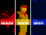 Boost Bonk Bam by DestroyedClone