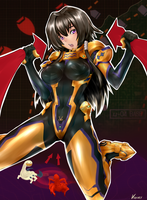 Fanart Muv Luv Alternative Total Eclipse by kinary