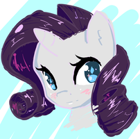 Rarity thing by ACharmingPony