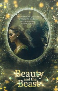 Beauty and the beast (Book Cover) by Euphrysicia